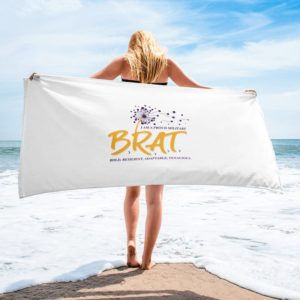 BRAT Beach Towel