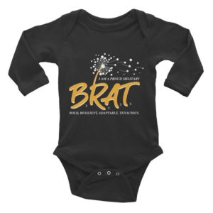 Brat Infant Long Sleeve Bodysuit