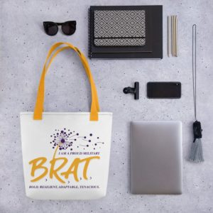 BRAT Large Tote bag