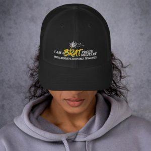 BRAT Embroidered Trucker Cap