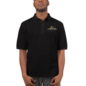 Brat Embroidered Polo