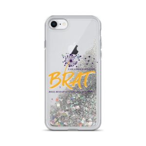 Brat Liquid Glitter iPhone Case