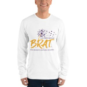 BRAT Long sleeve Unisex T-shirt